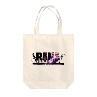 ラナチョロ White Tote bags