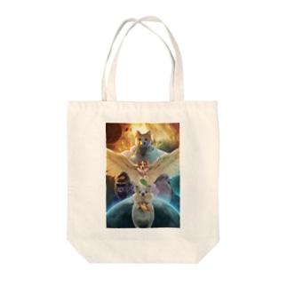 オウルドッグネコエビフライライジング Tote Bag