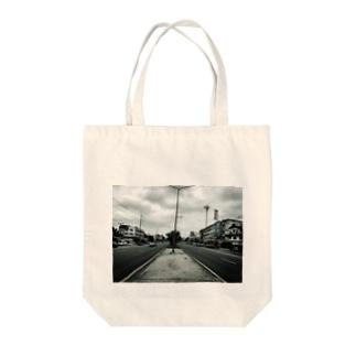 gentry road Tote bags