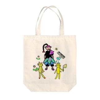 まとりとおうえんたいのトートバッグ パート① Tote bags