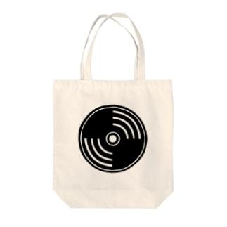 Vinyl logo Tote bags