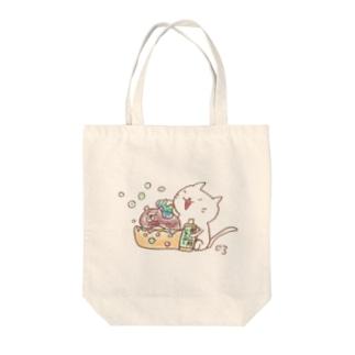 ちゃめし〜ちゃんキレイキレイ Tote bags