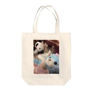 ganmo子猫 Tote bags