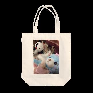 nyapikopiのganmo子猫 Tote bags