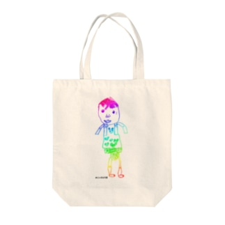 ともゆきくん Tote bags