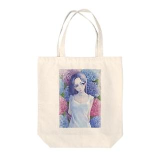 つめたい花 from SM137 Tote bags