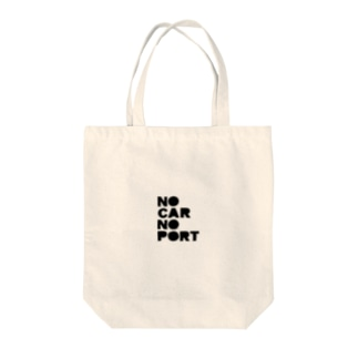 NOCARNOPORT Tote bags