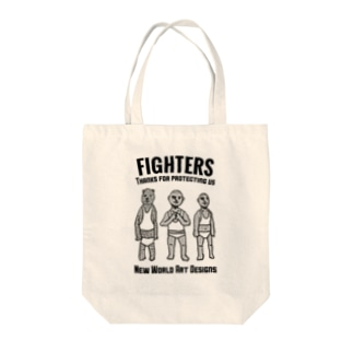 FIGHTERS Tote bags