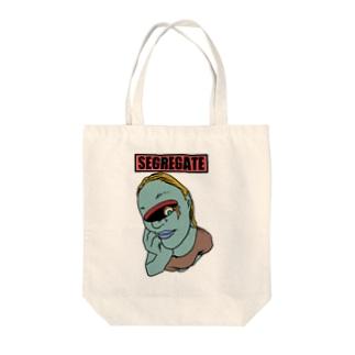 SEGREGATE Tote bags