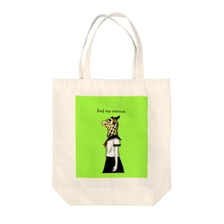 Animal girl (キリン) Tote bags