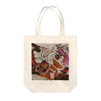 Chinese dancing all-night Tote bags