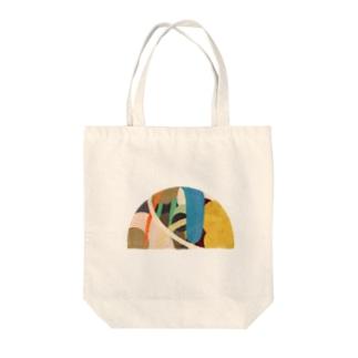 散歩 Tote bags
