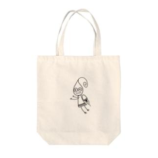 ロケット妖精 ビビ Tote bags
