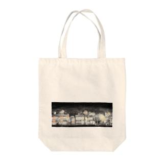 町あかり Tote bags