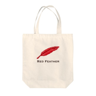 Red Feather(赤羽) Tote bags
