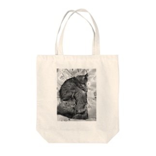 サンチコプリン Tote bags