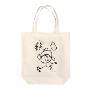 蘭ちゃんの女の子 Tote bags
