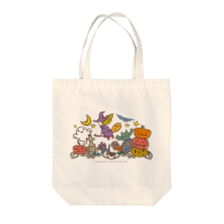 Halloween_witch Tote bags