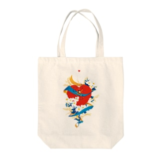 SPIDER_HEART Tote bags