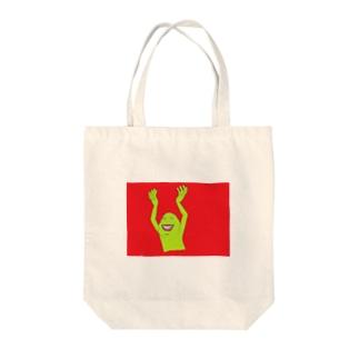 あいつ Tote bags