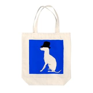 帽グレ Tote bags
