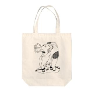 ゾウ Tote bags