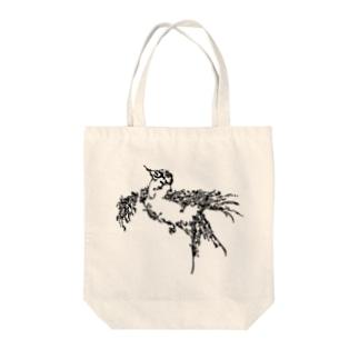 渡り鳥 Tote bags