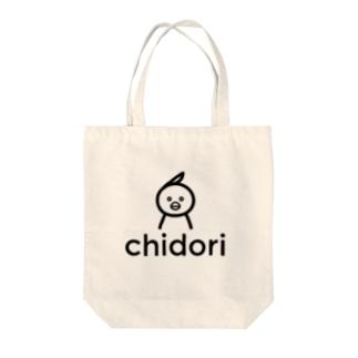 chidori Tote bags