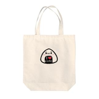 おにぎり Tote bags