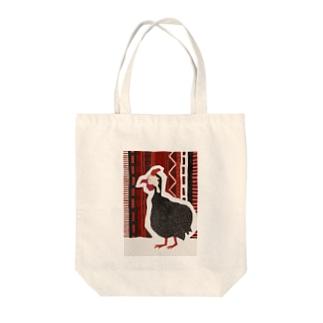 ホロホロチョウ Tote bags