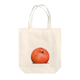 りんごのり Tote bags