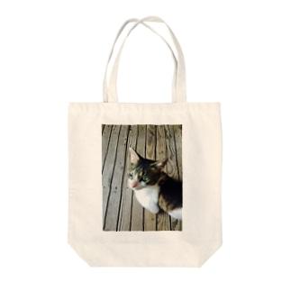 愛    Love    きゃっと❤️ Tote bags