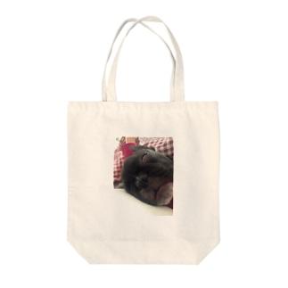 熟睡 Tote bags