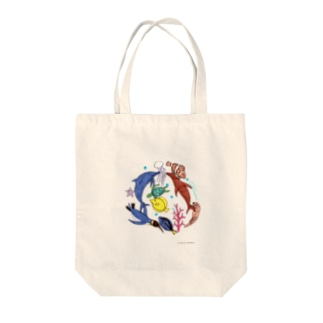大介の水族館 Tote bags