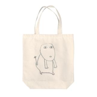 むーさん Tote bags