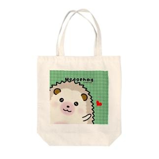 シナモン◆ハリネズミ Tote bags