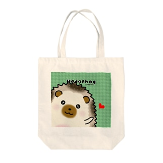 パイド◆ハリネズミ Tote bags