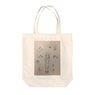 女の子が好きなもの Tote bags