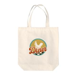 こっこダイナー Tote bags
