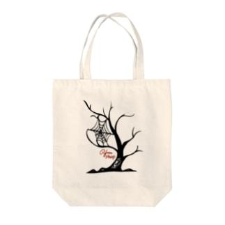 tree of Halloween Tote bags