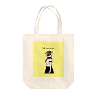 Animal girl (トラ) Tote bags