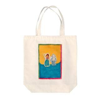 NAKONANAKOのnami Tote bags