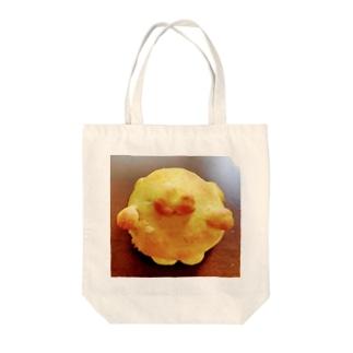 シェイモ襟ねこちゃんパン Tote bags