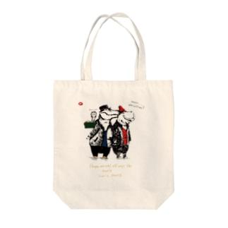 クロコ2 Tote bags