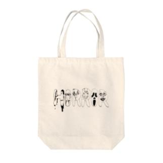 ホラー代表選手 Tote bags