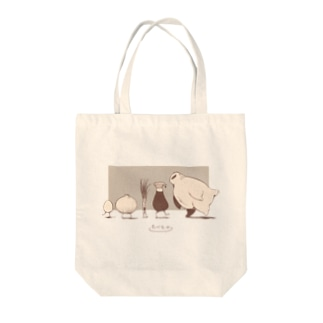 買いもののお供たべものエコバック Tote bags