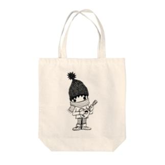 レレボーイwinter(シロ) Tote bags