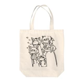 ワンワンワンの日 Tote bags