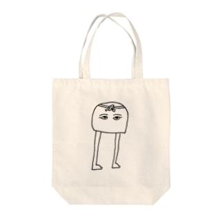 はちまきメジェド神 Tote bags