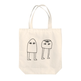 Wメジェド神 Tote bags